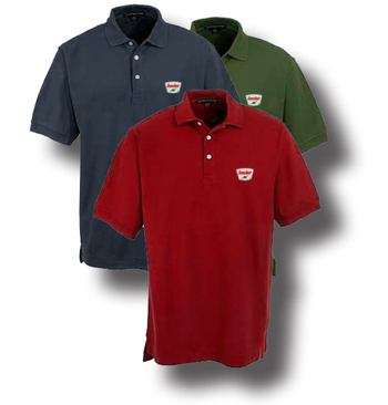 Sinclair Trapezoid Polo Shirt POLO2